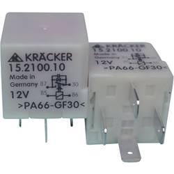 Avtomobilski rele Kräcker prva vgradnja - original 15.2100.10 12 V/DC 1 x EIN 15 A 60 V/AC / 75 V/DC