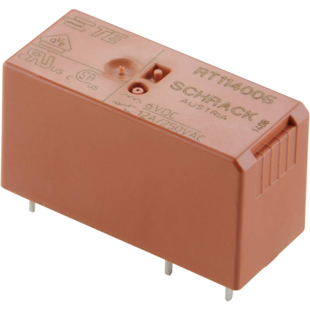 MOČ,TISK.RELE RT2 8A 2UK 24VDC tyco 6-1393243-8 TE Connectivity