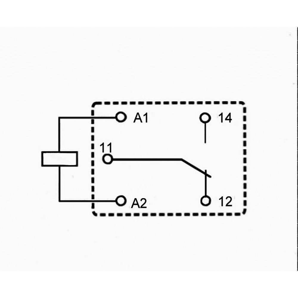 Mali zmogljivi rele 833H, 7 A,enopolni UM, vodotesen Song Chuan 833H-1C-C 12