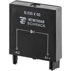 Steckmodul (value.1292944) med beskyttelsesdiode , Uden LED 1 stk TE Connectivity MTMT00A0 =M21 Passer til serie: TE Connectivit