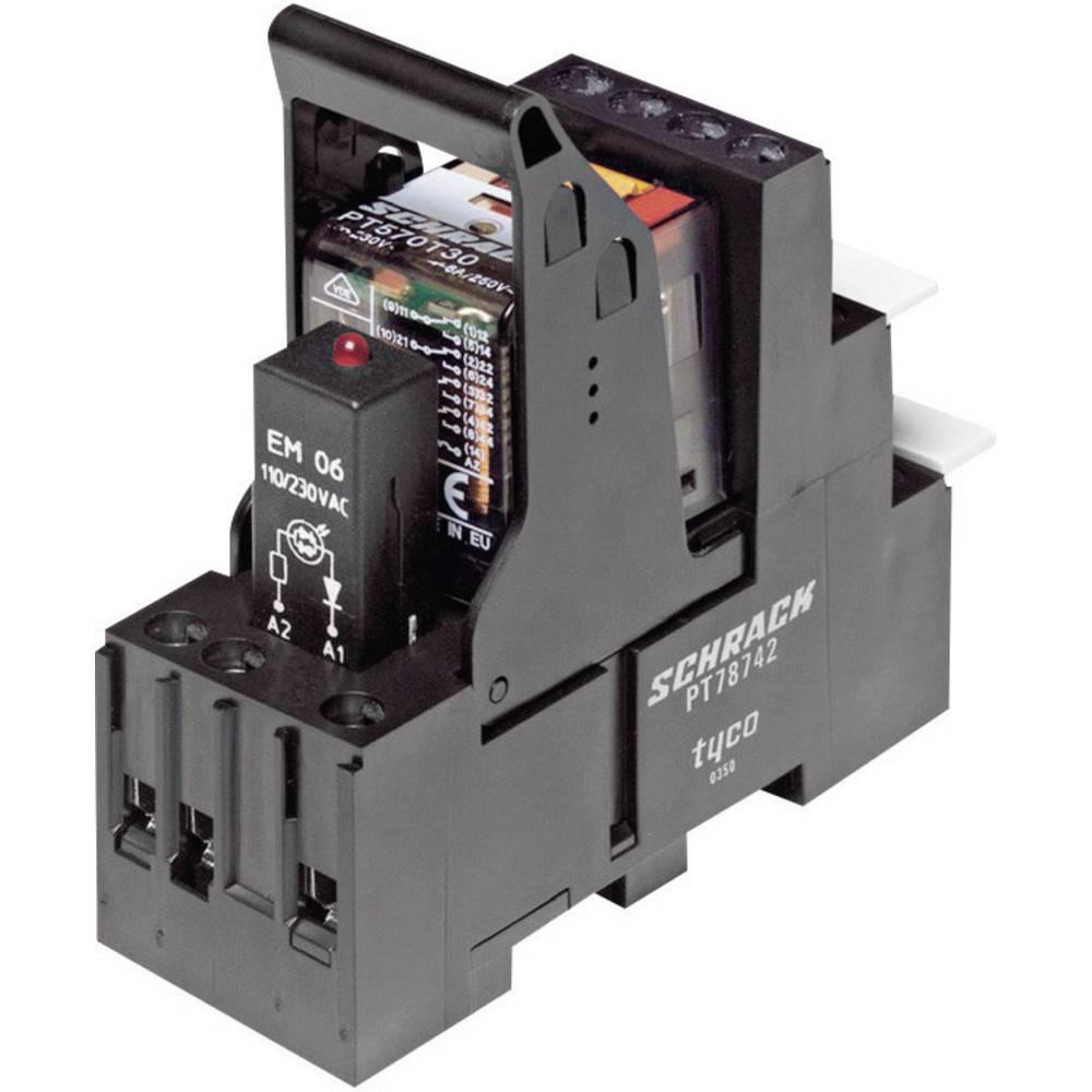 PT-rele, komplet TE Connectivity 6 A 250 V/AC 1500 VA 1415535-9