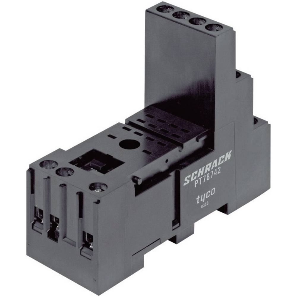 Relæsokkel 1 stk TE Connectivity PT78742
