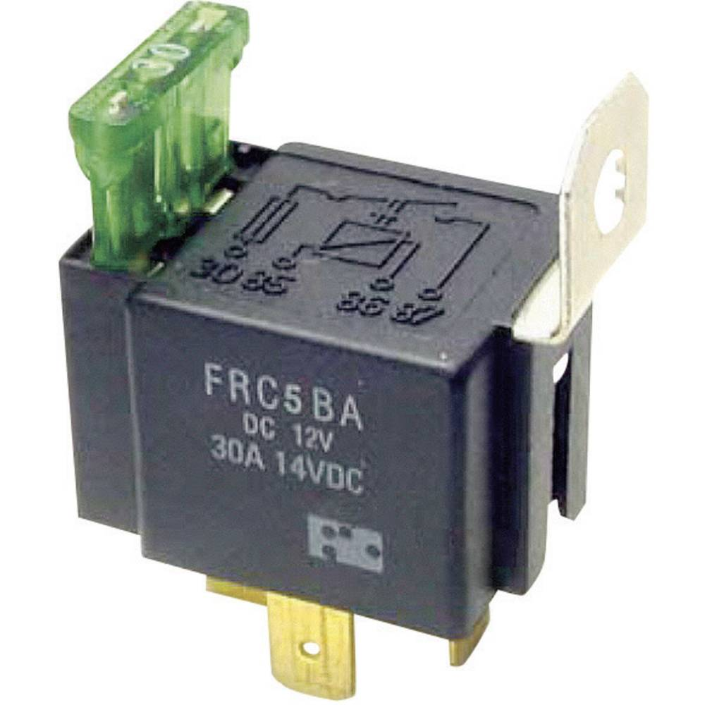 Avtomobilski rele FiC FRC5BA-DC12V 12 V/DC 1 delovni kontakt 30 A 14 V/DC