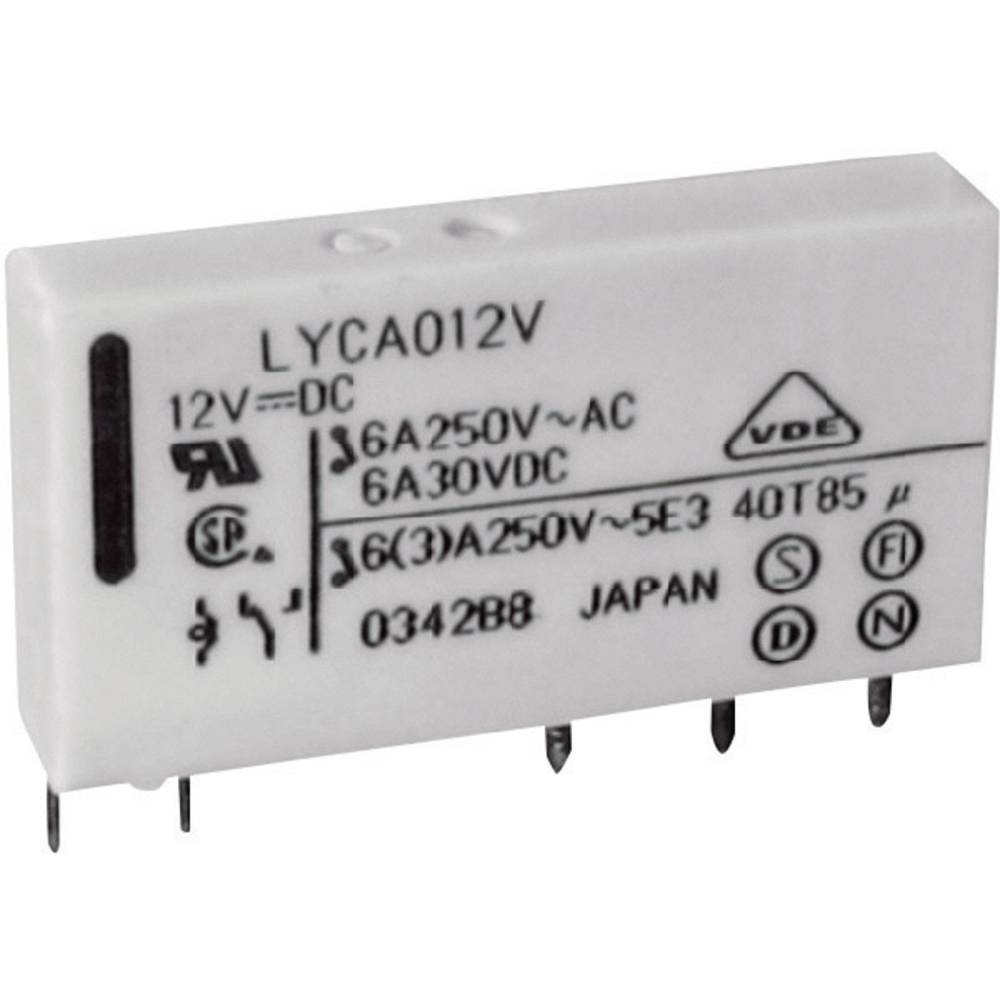 Omrežni rele FTR Fujitsu FTR-LYCA005V 5 V/DC 1 preklopni kontakt 6 A 250 V/AC