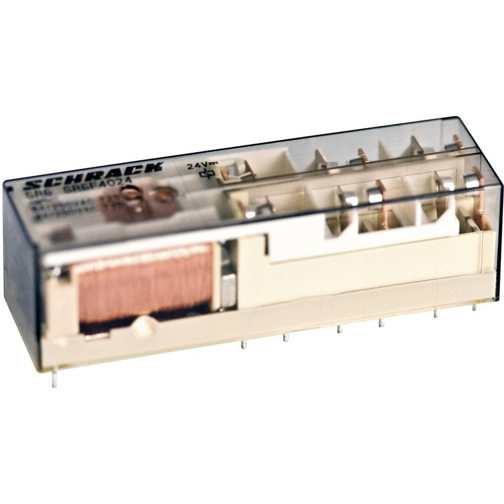 Printrelæ 24 V/DC 8 A 4 x sluttekontakt, 2 x brydekontakt TE Connectivity SR6B6K24 1 stk