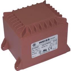 Printtransformator 1 x 230 V 1 x 18 V/AC 50 VA 2.78 A 85/424 Weiss Elektrotechnik