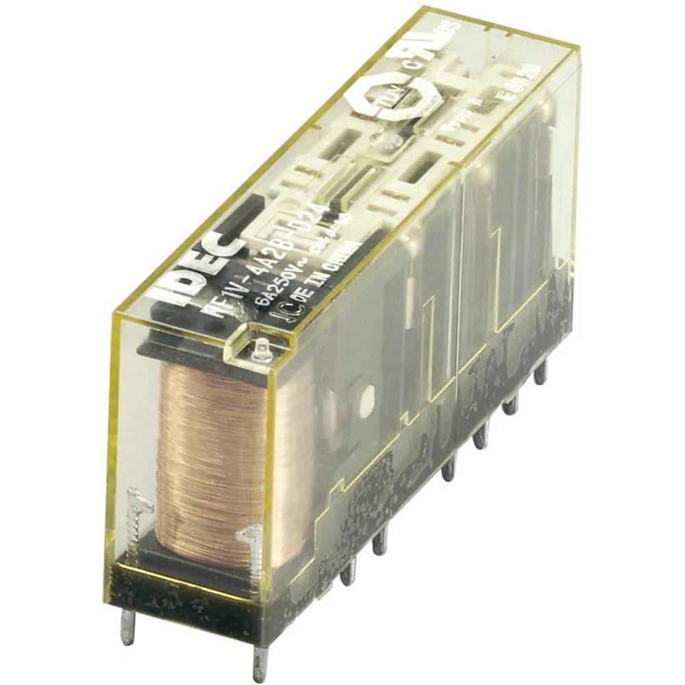 Rele Idec RF1V-4A2BL-D24, 24 V/DC, 4 x delovni/2 x mirovni k. (ohmsko breme), maks. 6 A