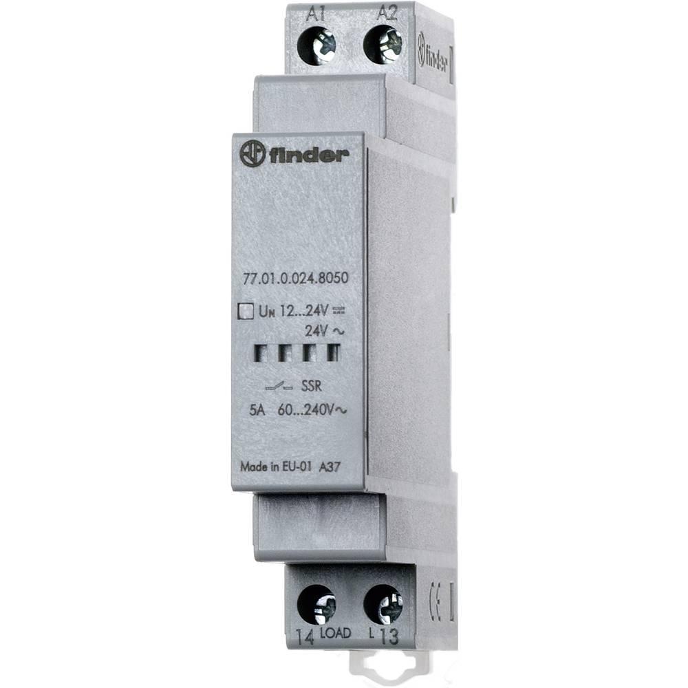 Finder 77.01.0.024.8050-Elektronski relej (SSR) serije 77, 1 radni kontakt, 5A