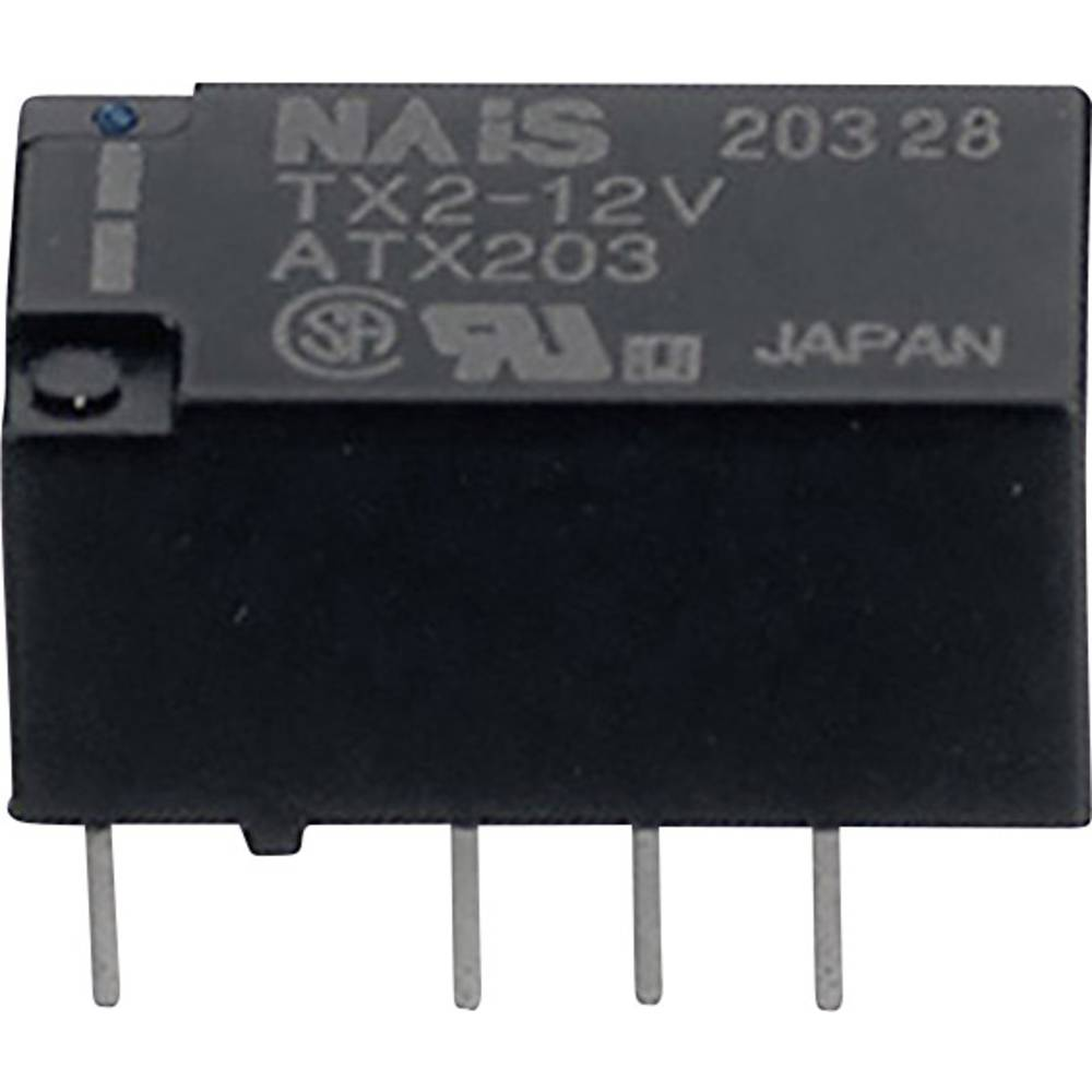 Rele za tiskano vezje 4.5 V/DC 1 A 2 x preklopni Panasonic TXS24,5 1 kos