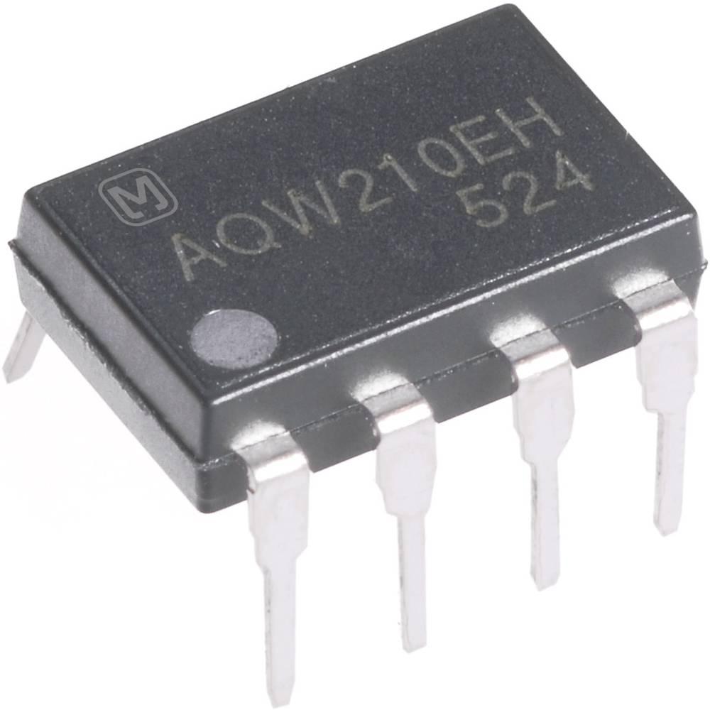 PhotoMOS-Relais (value.1452878) 1 stk Panasonic AQW212EH 2 Schließer (value.1345272) 60 V/DC, 60 V/AC 500 mA Poltal: 8