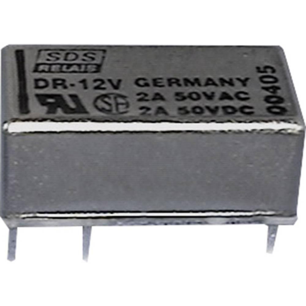 Rele za tiskano vezje 12 V/DC 1 A 1 x preklopni Panasonic DR12SDS 1 kos