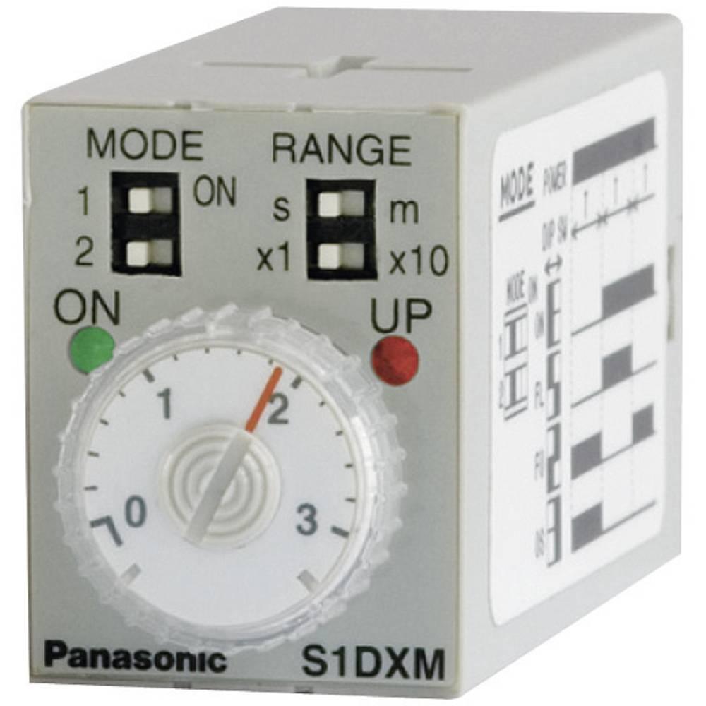 Zeitrelais (value.1292912) Panasonic S1DXMM4C10HDC24V-S Multifunktional (value.1315698) 24 V/DC 0.05 min - 10 h 4 Wechsler (valu