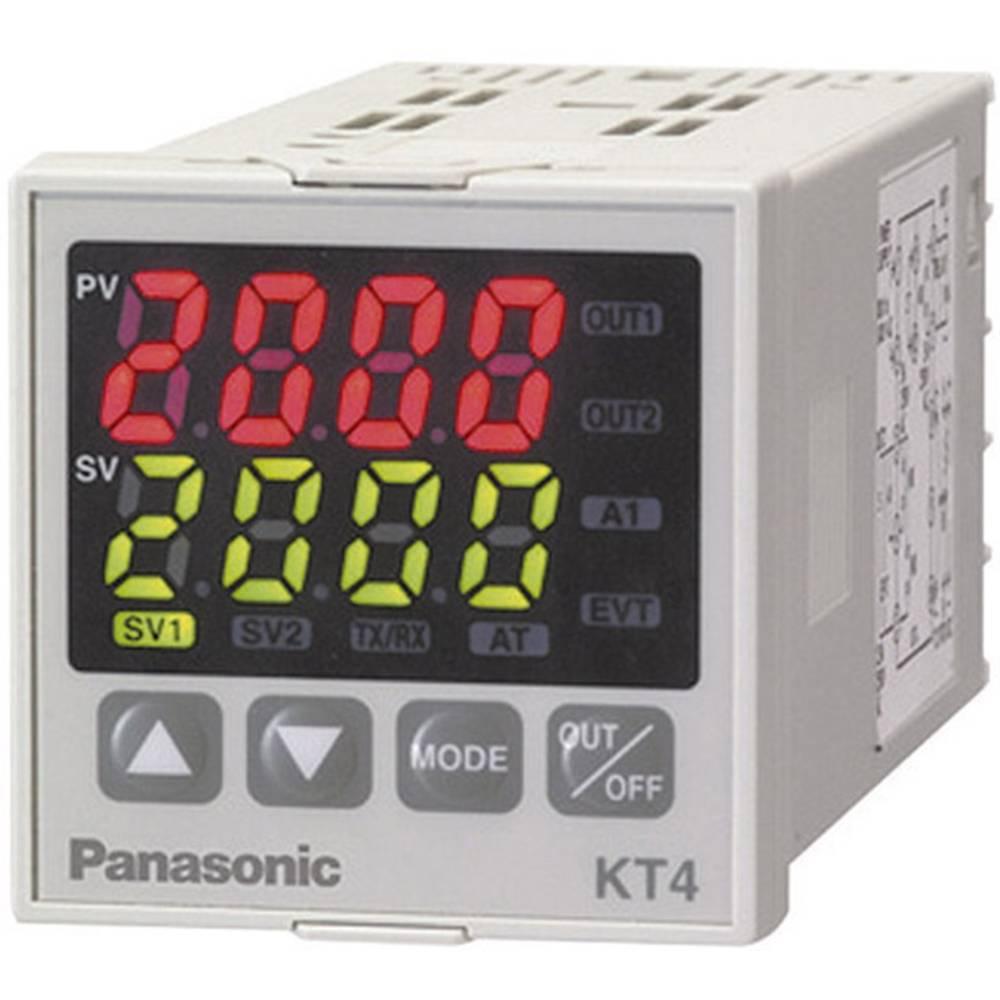 PID termostat Panasonic AKT4111100J K, J, R, S, B, E, T, N, PL-II, C, Pt100, Pt100 -200 do +1820 °C rele 3 A (D x Š x V) 95 x 48