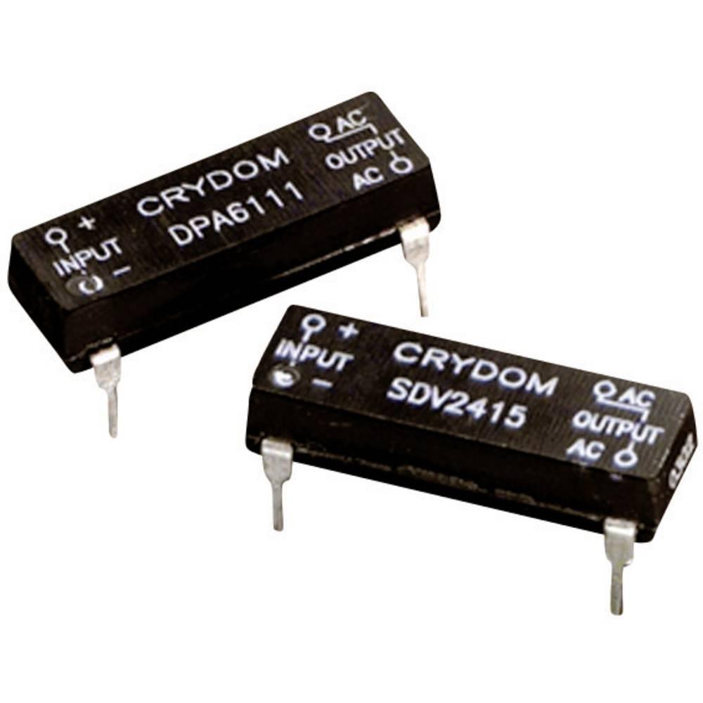 Halbleiterrelais (value.1292894) 1 stk Crydom SDV2415R Last-Strøm (maks.): 1.5 A Koblingsspænding (max.): 280 V/AC Strakskoblend