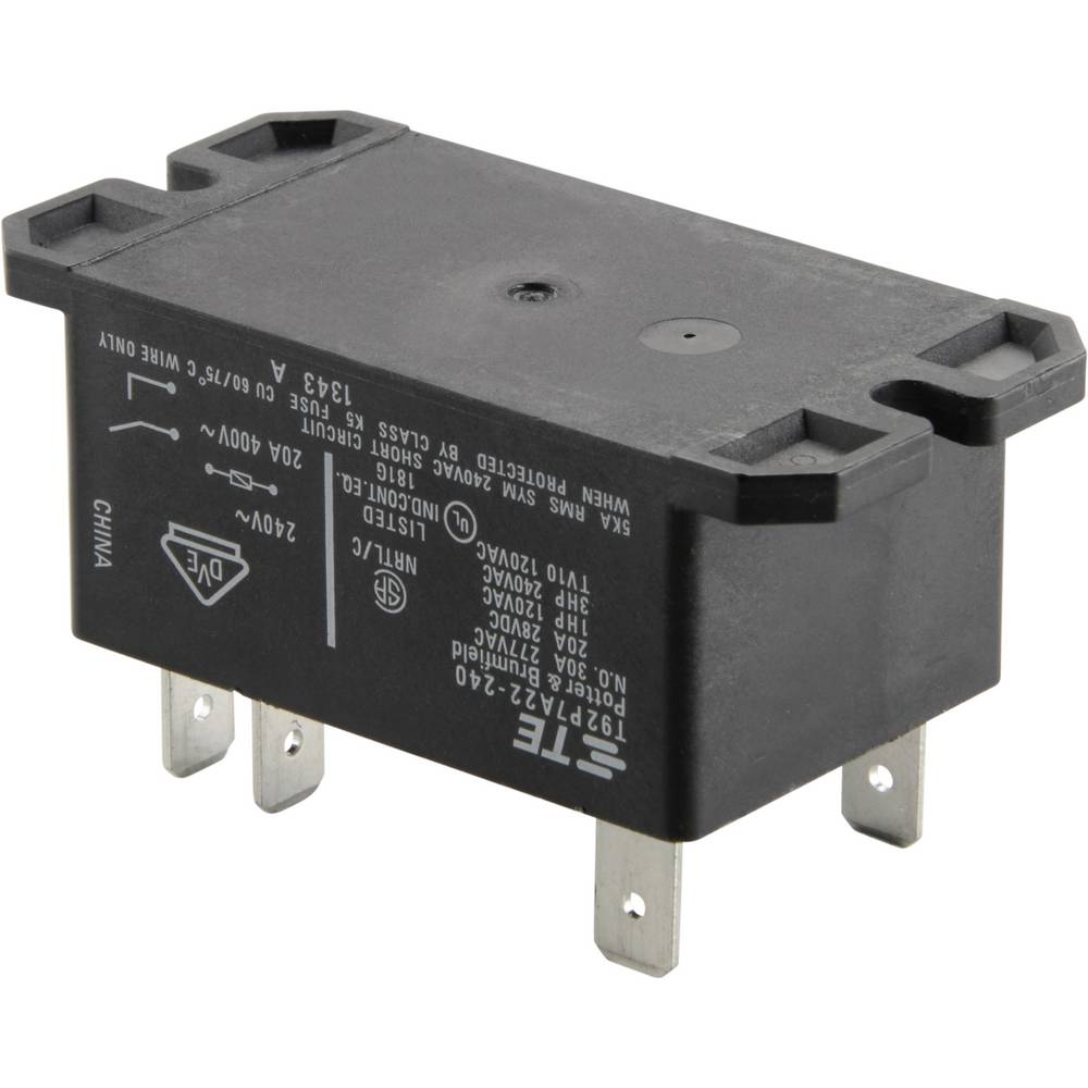 Relej za tiskanu pločicu, 30 A, dvopolni 1393211-62 240 V/AC2uklopni kontakt