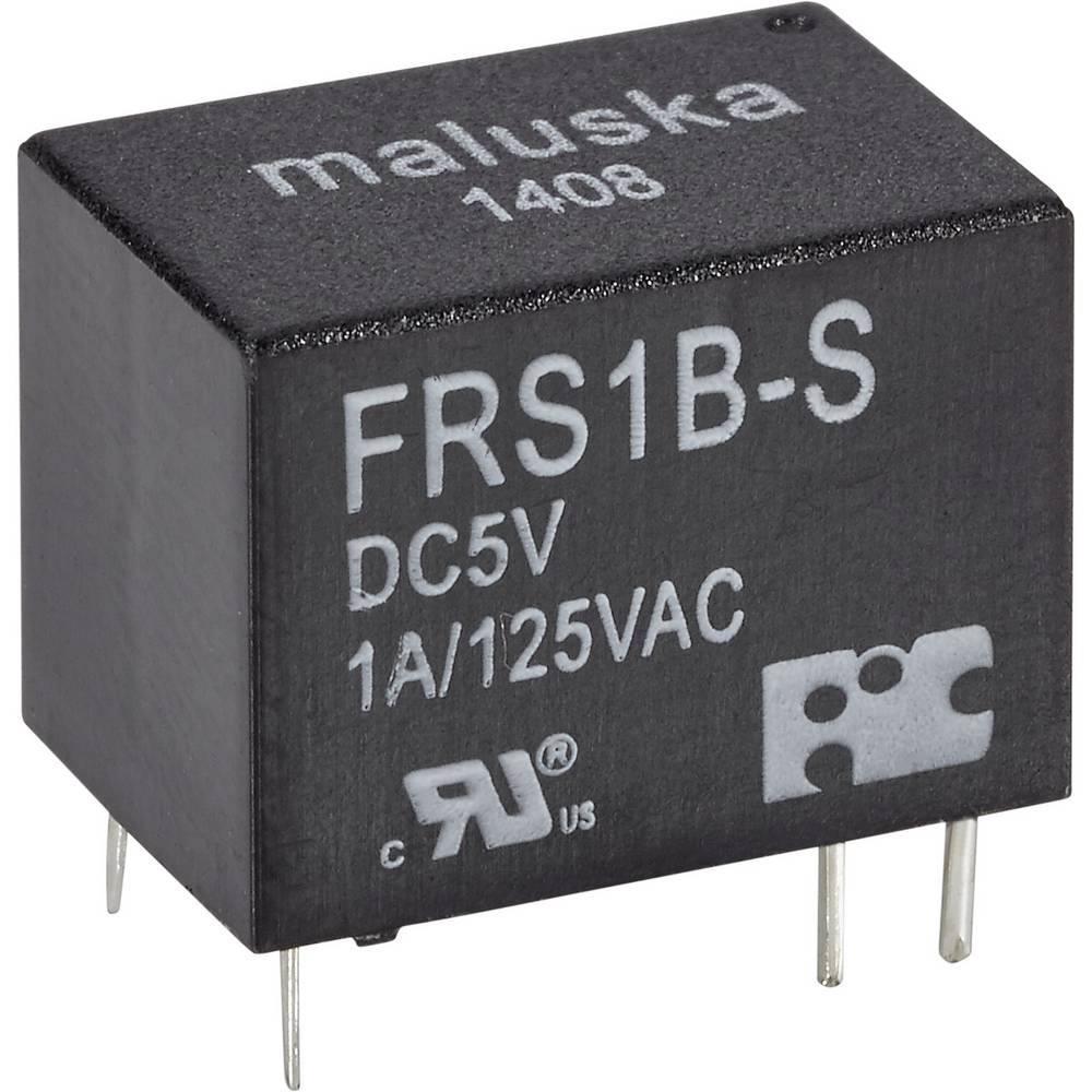 Mali relej, jednopolni UM, vodotijesan FRS1B-S-DC24 24V/DC 1preklopni kontakt maks.1A 30V FiC