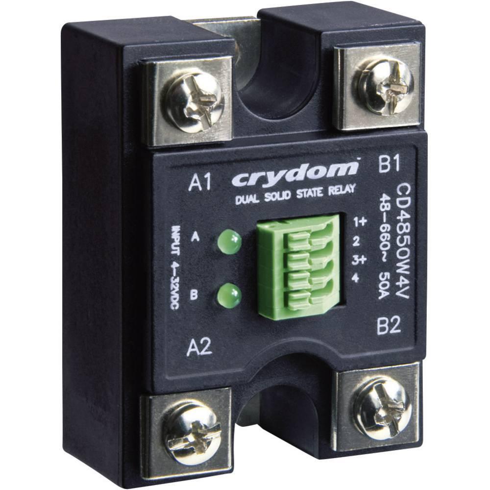 Elektronski bremenski rele Evolution serije CD4850W3V, dvojni AC-izhod Crydom CD4850W3V To