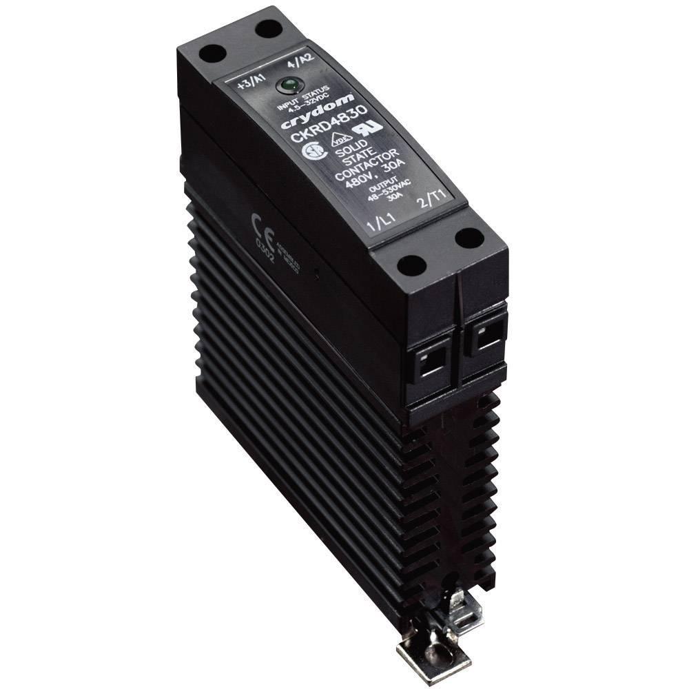 Halbleiterrelais (value.1292894) 1 stk Crydom CKRD2430 Last-Strøm (maks.): 30 A Koblingsspænding (max.): 280 V/AC Vekslende ved