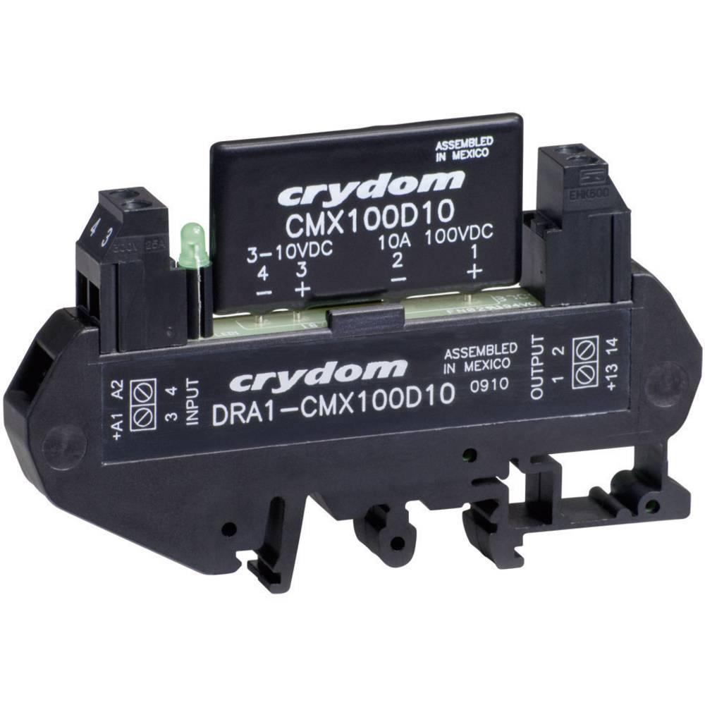 DC Poluprovodnički relej za montažu na DIN-letvu Crydom DRA1 DRA1-MPDCD3