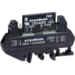 Halbleiterrelais (value.1292894) 1 stk Crydom DRA1-CXE240D5 Last-Strøm (maks.): 5 A Koblingsspænding (max.): 280 V/AC Vekslende