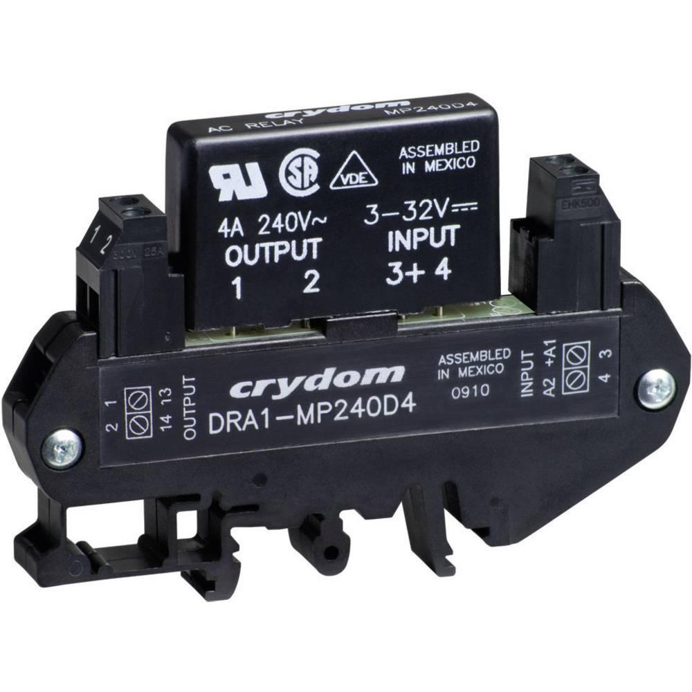 AC polprevodniški rele za montažo na DIN-letev DRA1 Crydom DRA1-MP240D3 Tok bremena 0.02 -