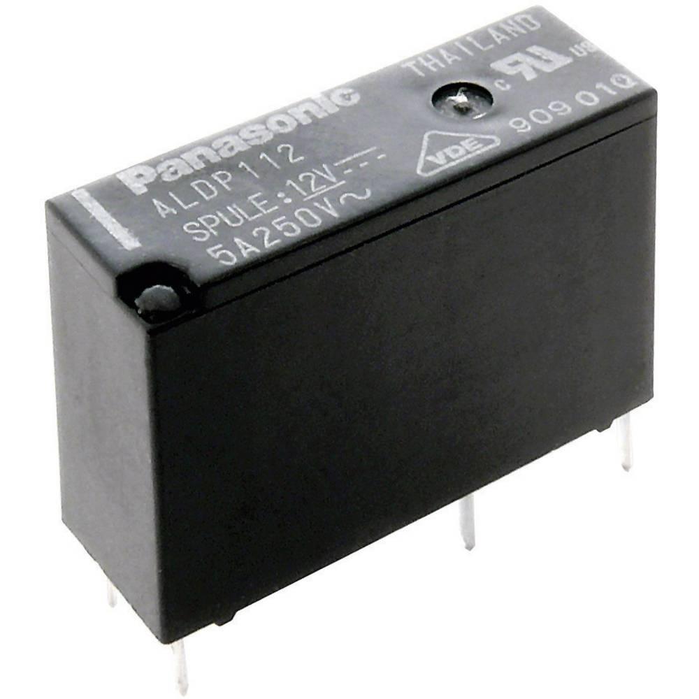 Rele za tiskano vezje 12 V/DC 5 A 1 x zapiralni Panasonic ALDP112 1 kos