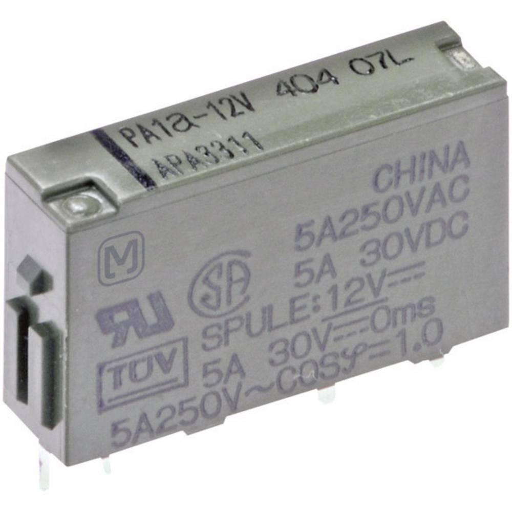 Rele za tiskano vezje 12 V/DC 5 A 1 x zapiralni Panasonic PA1A12 1 kos