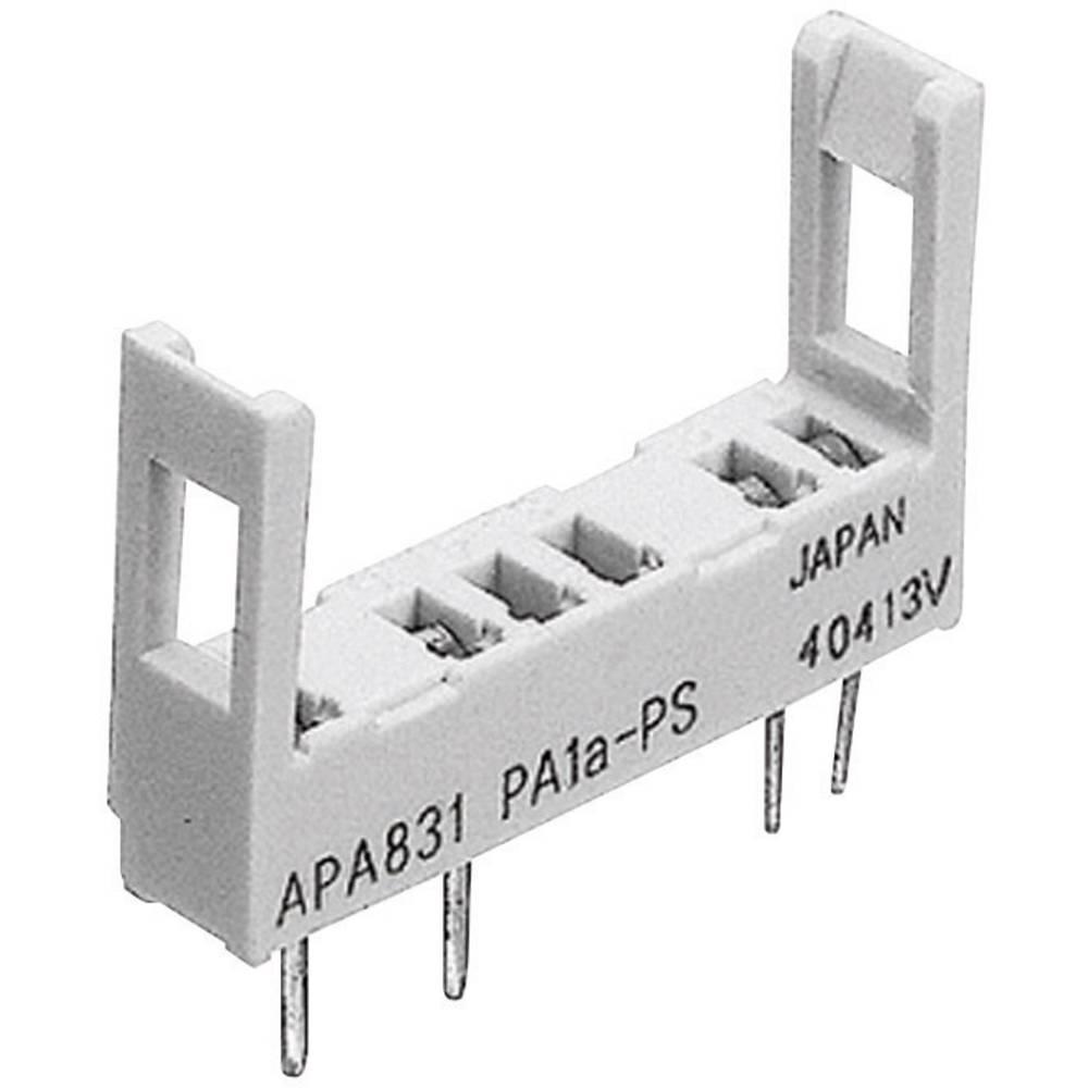 Relaissockel (value.1292916) 1 stk Panasonic PA1APS Passer til serie: Panasonic serie PA (L x B x H) 22.6 x 5 x 14.3 mm