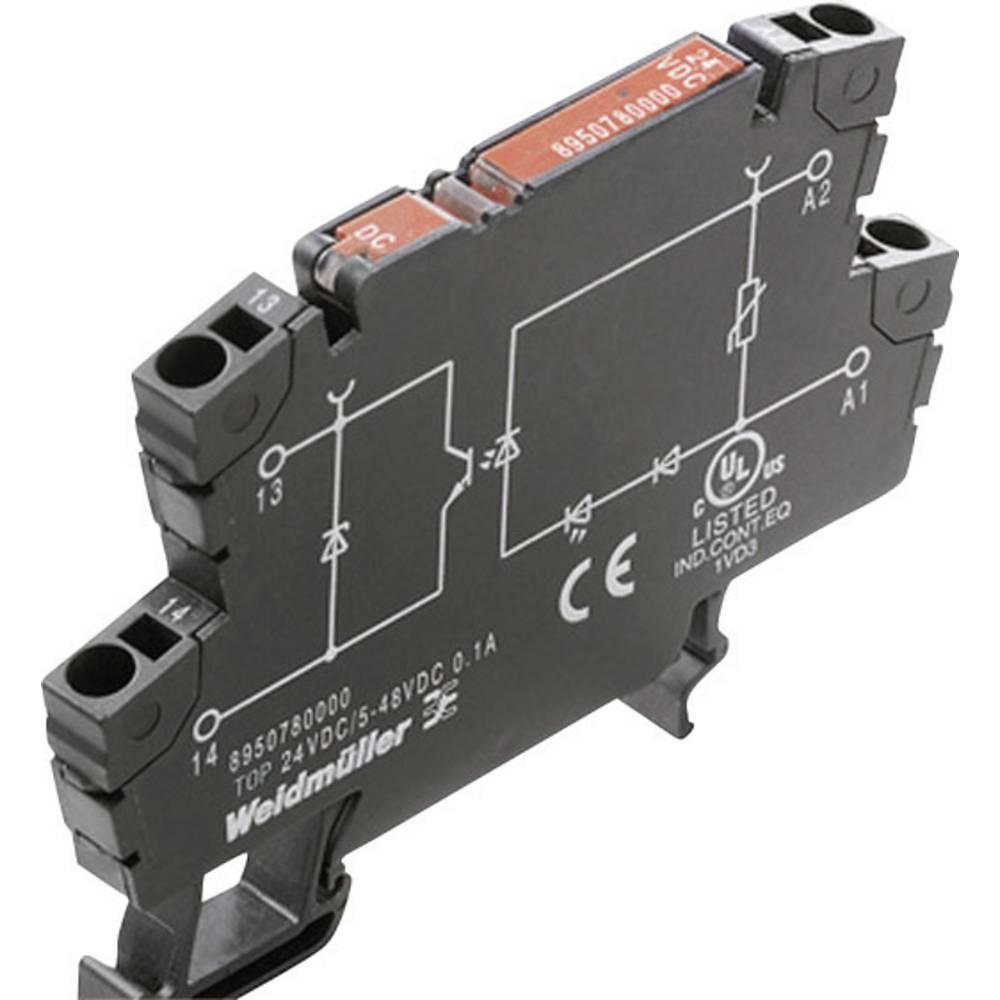 Optokopplerrelais (value.1472423) 1 stk Weidmüller TOP 120VAC/48VDC 0.5A RC Koblingsspænding (max.): 48 V/DC