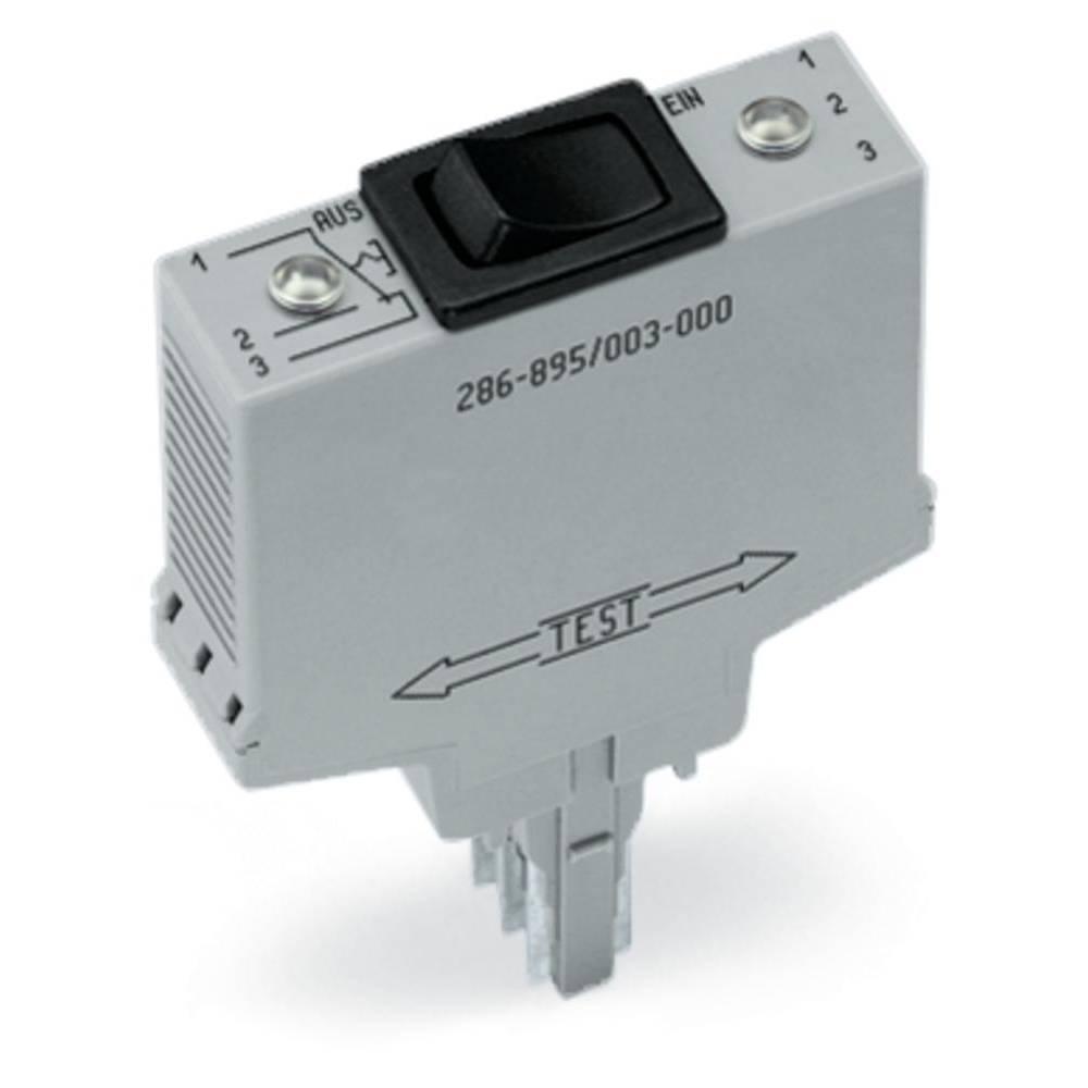 Schalterbaustein (value.1292948) 1 stk WAGO 286-896 Passer til serie: Wago serie 280 Passer til model: Wago 280-609, Wago 280-61