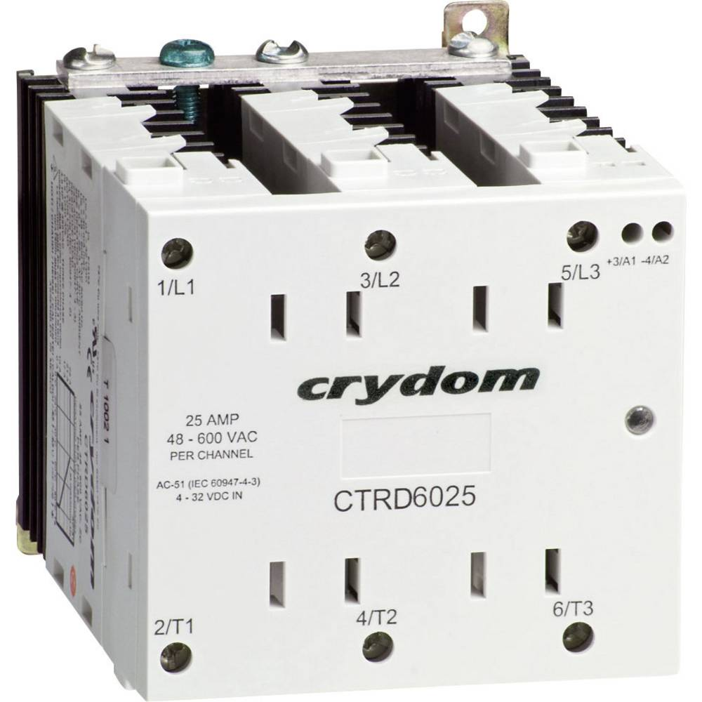 Crydom CTRD6025-10 3-Phase Solid State Relay