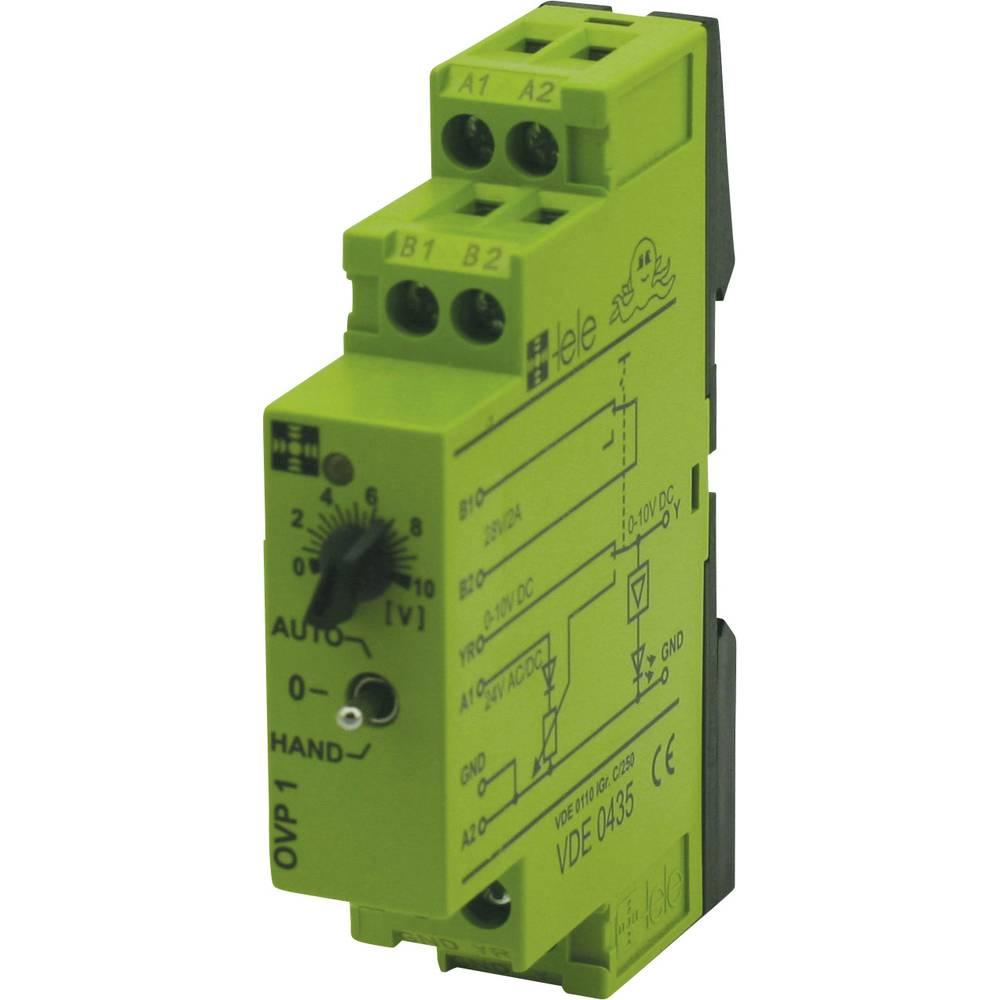 Preklopni modul TELE tele OVP1 24 V/AC/DC 0 - 10 V - 1 kos