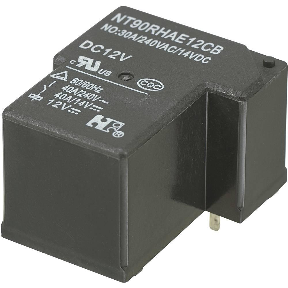 Močnostni rele za tiskano vezje NT90RHAE12CB, 12 V/DC, 1 x delovni kontakt, maks. 30 A
