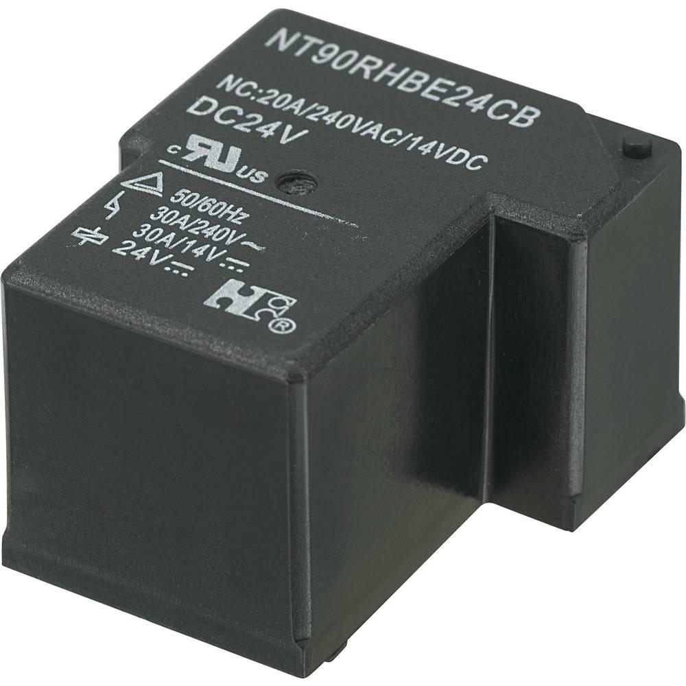 Močnostni rele za tiskano vezje NT90RHAE24CB, 24 V/DC, 1 x delovni kontakt, maks. 30 A