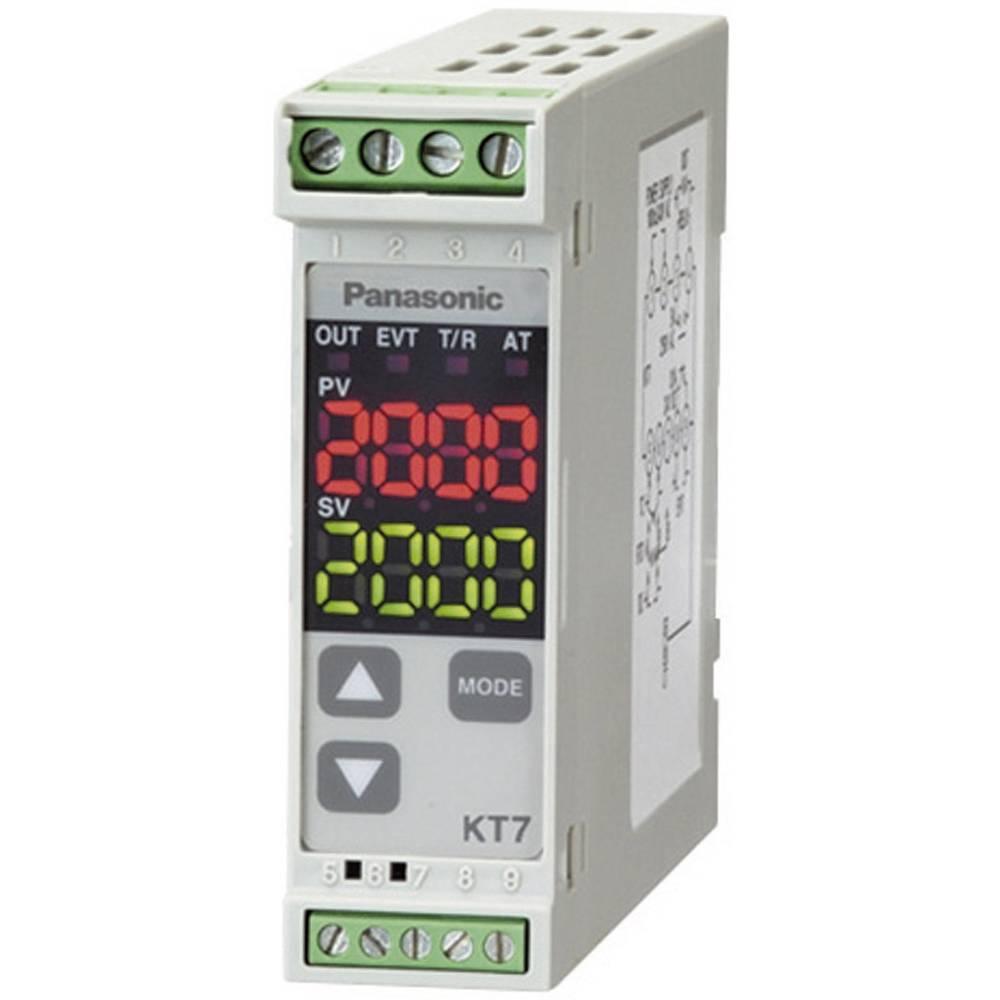 Termostat Panasonic AKT7111100J K, J, R, S, B, E, T, N, PL-II, C, Pt100, Pt100 -200 do +1820 °C rele 3 A, tranzistor (D x Š x V)
