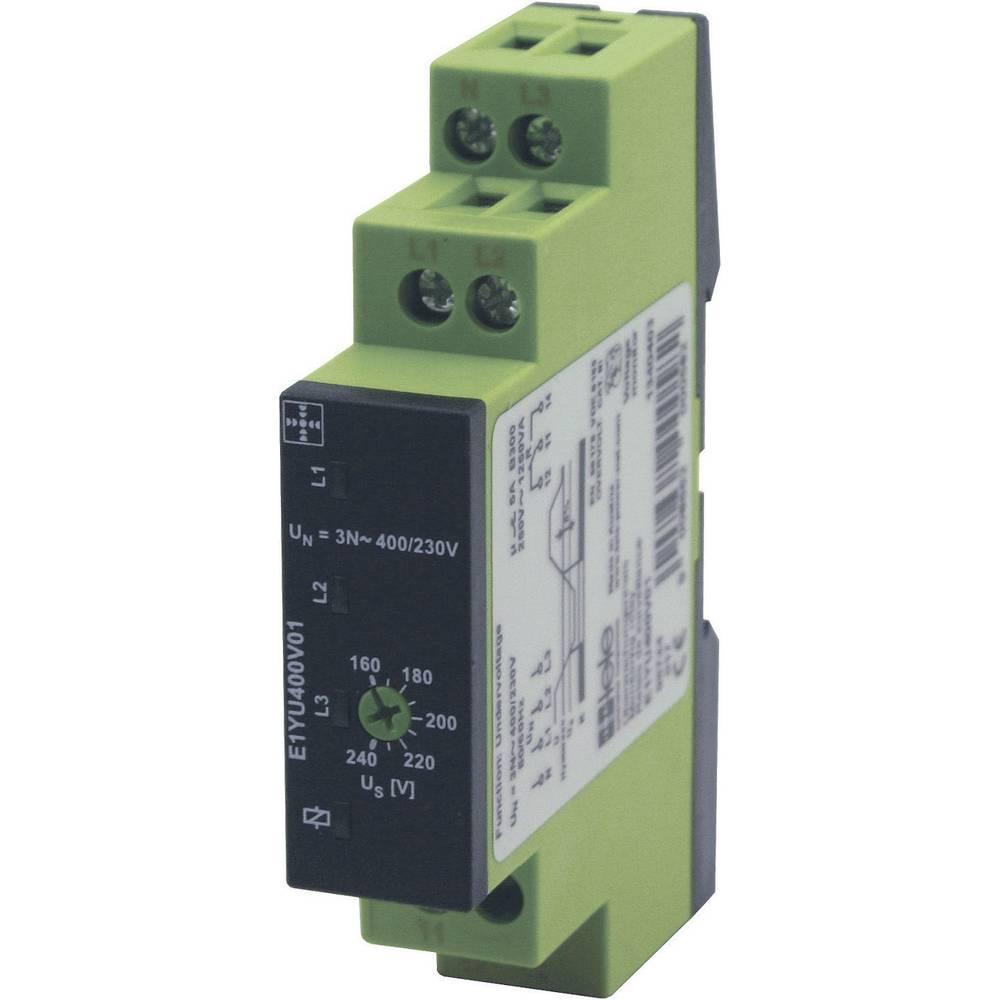 TELE-Nadzorni rele trifazne napetosti serije ENYA E1YU400V01 1340403