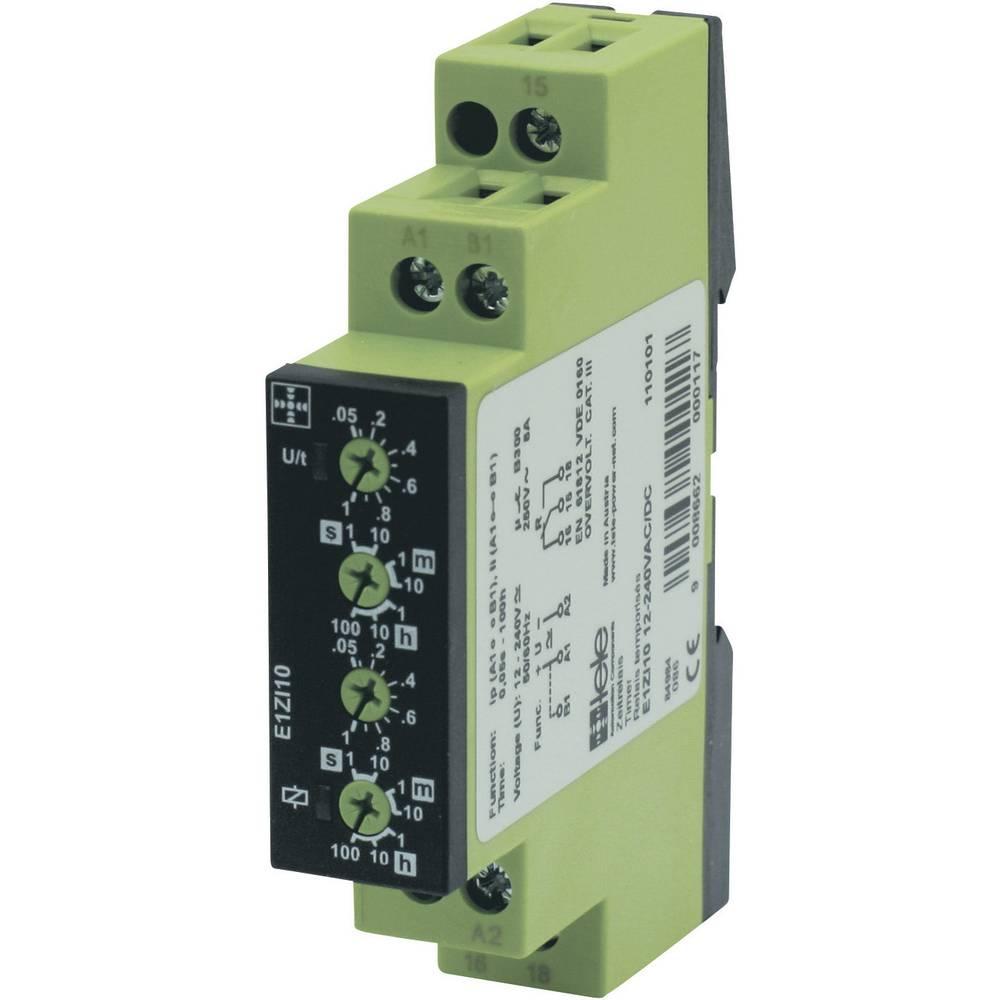 TELE E1ZI10-Časovni rele serije ENYA, 12-240VAC/DC, 12-240 DC/AC, 1 NC, 8A/250 V/AC 110101