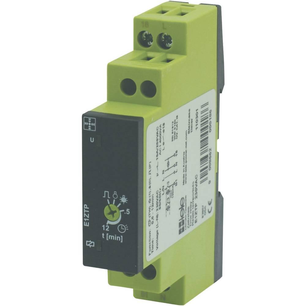 TELE E1ZTP-Časovni rele serije ENYA, 230V AC, 230 V/AC, 1NC, 16 A/250V/AC 110301