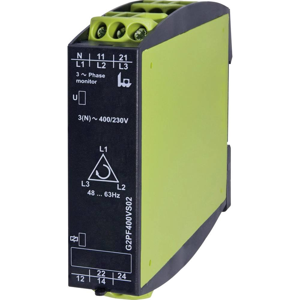 tele 2390000 G2PF400VS02 Gamma 3-Phase Voltage Monitoring Relay 3-phase voltage monitoring