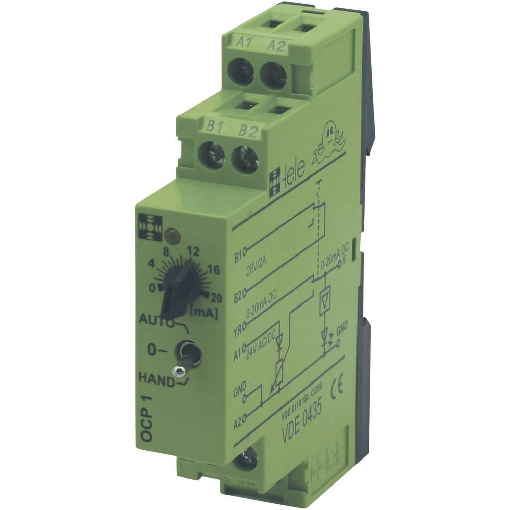 Vezni modul Tele OCP1, 24 V AC/DC, 0-20 mA4 V AC/DC, 0-20 Ma 170018