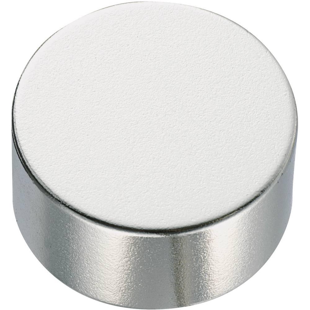 Okrogli magnet NdFeB, (premerxV) 10 mm x 2 mm, material: NxV) 10 mm x 2 mm, material: N Conrad