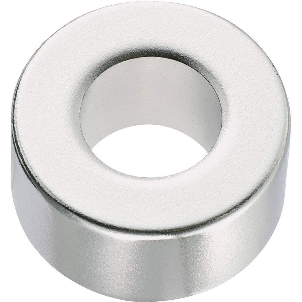 Trajni magnet N35M Conrad prstenasti 1.24 T granična temperatura (maks.): 100 °C