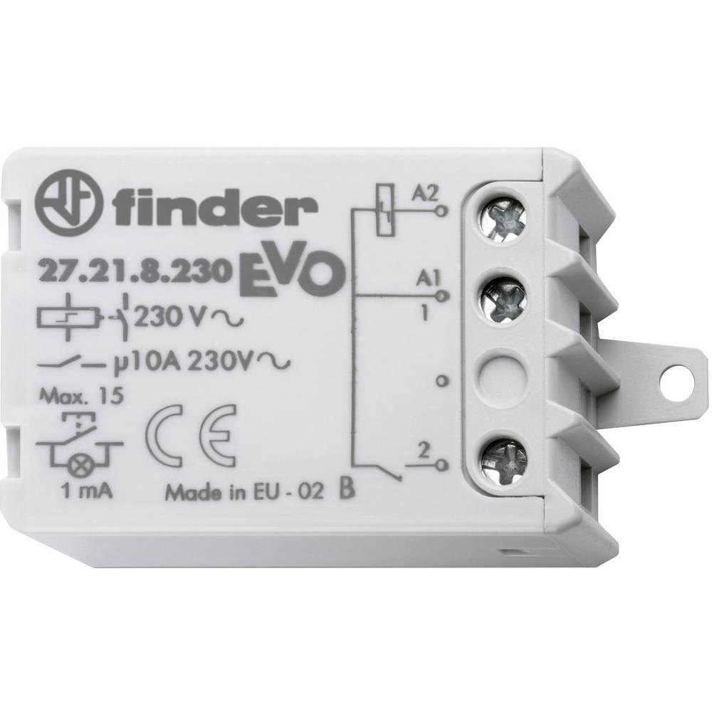 Finder-Impulzno koračno stikalo EVO 27.21.8.230.0000, 230V/AC, 1NO, 10A Max. 230V/AC
