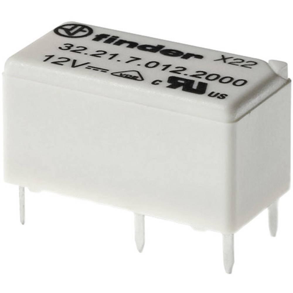 Miniaturni rele za tiskano vezje Finder 32.21.7.005.2000, 5V, 1 x preklopni kontakt, 6 A