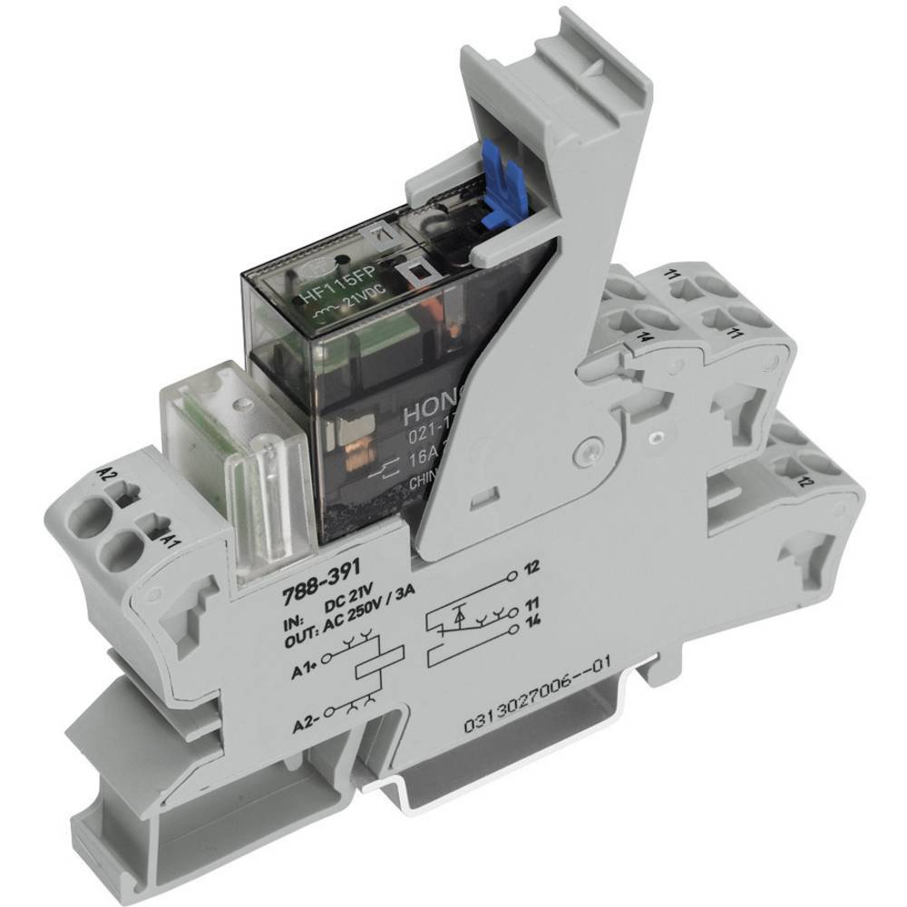 WAGO 788-543 Relay SPDT-CO 115Vac IP20