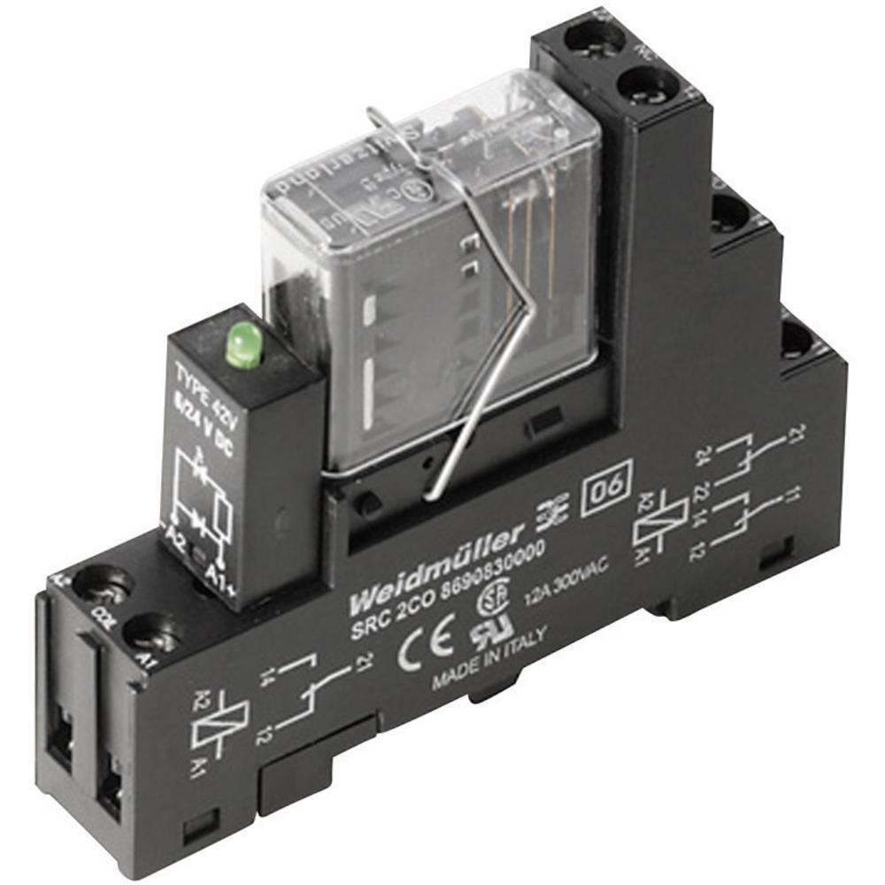 Preklopni rele 1 kos Weidmüller RCIKIT 24VDC 2CO LD/FG nazivna napetost: 24 V/AC preklopni tok (maks.): 6 A