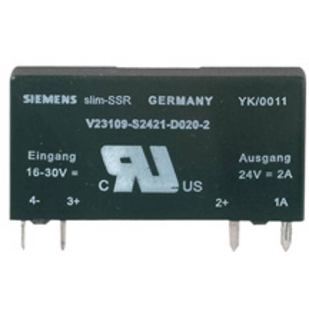 Halbleiterrelais (value.1292894) 1 stk Weidmüller SSS Relais 60V/24V 2Adc Last-Strøm (maks.): 2 A Koblingsspænding (max.): 33 V/