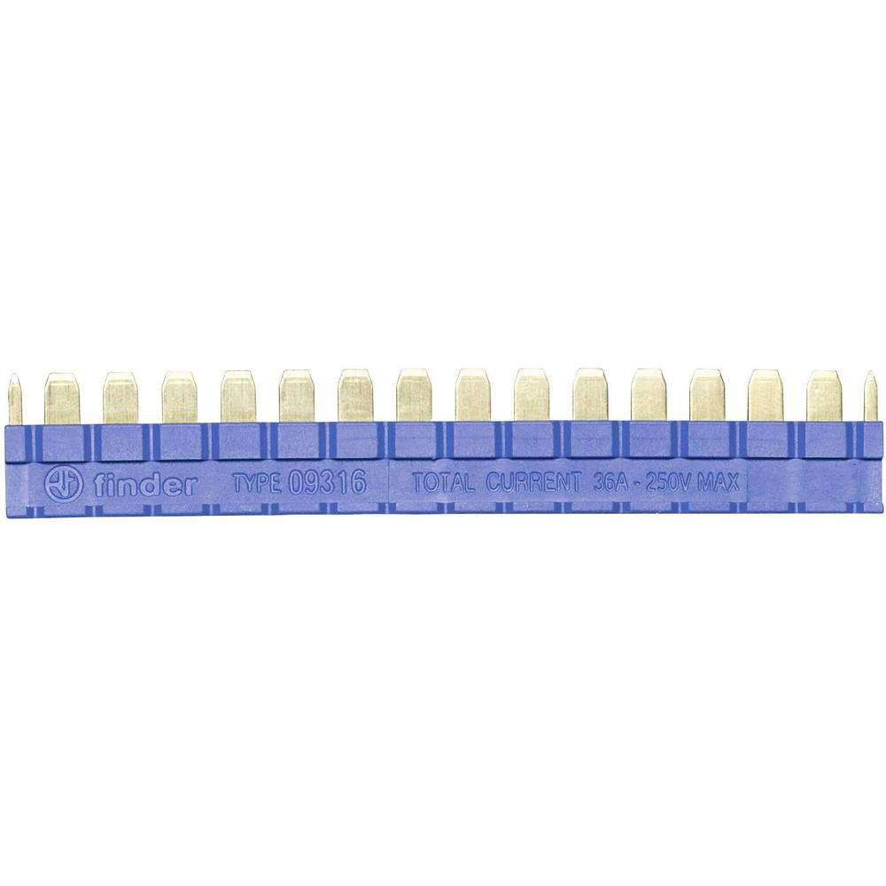 Mostič Finder 093.16 za relejsspojkom serije 39, plavi