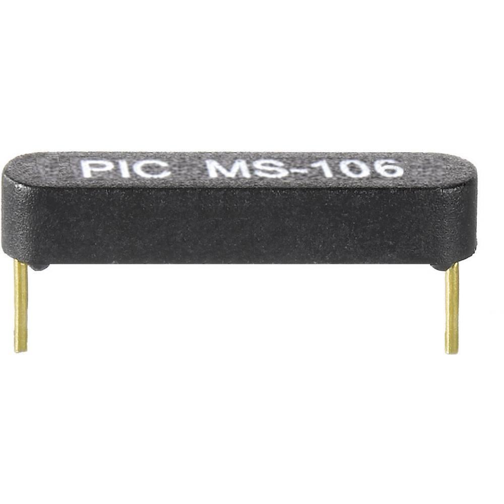 Ožičen reed senzor PIC MS-106-3, 1 x delovni kontakt, 0,7 A,180 V/DC, 130 V/AC, 10 W