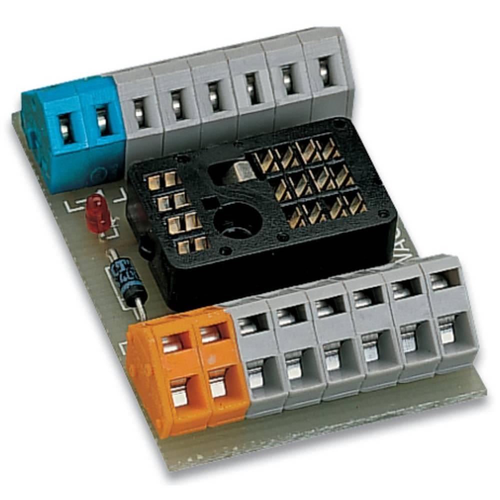 Tiskano vezje za rele, neopremljeno, 1 kos WAGO 288-153 4 x preklopni 250 V/DC, 250 V/AC